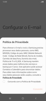 Como configurar seu celular para receber e enviar e-mails - Samsung Galaxy A20 - Passo 9