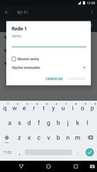 Como configurar uma rede Wi-Fi - LG Google Nexus 5X - Passo 6
