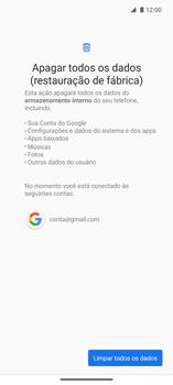 Como restaurar as configurações originais do seu aparelho - Motorola Edge - Passo 8