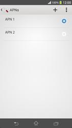 Como configurar a internet do seu aparelho (APN) - Sony Xperia SP - Passo 15