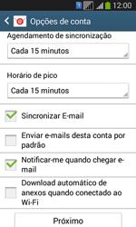 Como configurar seu celular para receber e enviar e-mails - Samsung Galaxy Core Plus - Passo 15