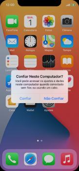 Como transferir arquivos do computador (Windows) para seu aparelho - Apple iPhone 11 Pro - Passo 3