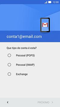 Como configurar seu celular para receber e enviar e-mails - Asus ZenFone Go - Passo 12