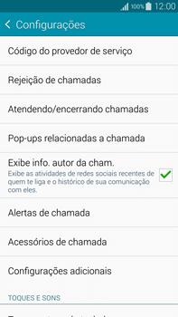 Como bloquear chamadas de um número específico - Samsung Galaxy Note - Passo 7
