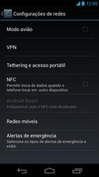 Como ativar e desativar uma rede de dados - Motorola Moto X (1ª Geração) - Passo 4