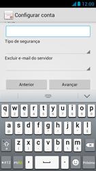 Como configurar seu celular para receber e enviar e-mails - Huawei Ascend G510 - Passo 11
