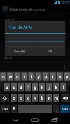 Como configurar a internet do seu aparelho (APN) - Motorola Moto X (1ª Geração) - Passo 13