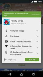 Como baixar aplicativos - Sony Xperia M4 Aqua - Passo 18