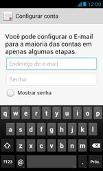 Como configurar seu celular para receber e enviar e-mails - Huawei Y340 - Passo 6