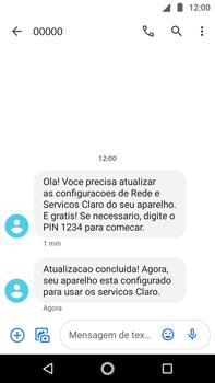 Como conectar à internet - Motorola Moto G5s Plus - Passo 18
