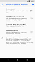Como usar seu aparelho como um roteador de rede Wi-Fi - Google Pixel 2 - Passo 8