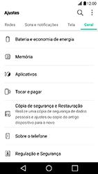 Como restaurar as configurações originais do seu aparelho - LG X Power - Passo 4