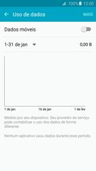 Como ativar e desativar uma rede de dados - Samsung Galaxy S6 - Passo 6