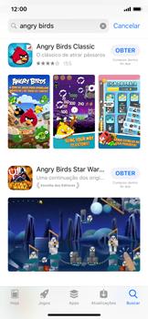 Como baixar aplicativos - Apple iPhone X - Passo 12