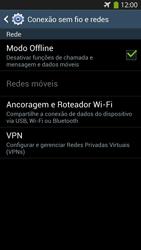 Como ativar e desativar o modo avião no seu aparelho - Samsung Galaxy S IV - Passo 6