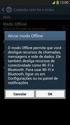 Como ativar e desativar o modo avião no seu aparelho - Samsung Galaxy S IV - Passo 5