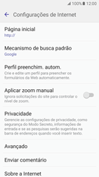 Como configurar a internet do seu aparelho (APN) - Samsung Galaxy S7 - Passo 26