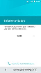 Como configurar pela primeira vez - Motorola Moto E (2ª Geração) - Passo 9