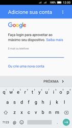 Como configurar seu celular para receber e enviar e-mails - Lenovo Vibe C2 - Passo 9