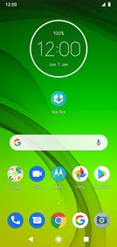 Como ativar e desativar o modo avião no seu aparelho - Motorola Moto G7 Power - Passo 1