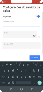 Como configurar seu celular para receber e enviar e-mails - Motorola One - Passo 18