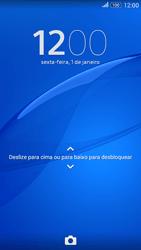 Como reiniciar o aparelho - Sony Xperia E4G - Passo 7
