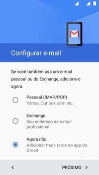 Como configurar pela primeira vez - Motorola Moto G (4ª Geração) - Passo 18