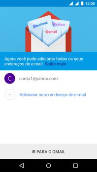 Como configurar seu celular para receber e enviar e-mails - Motorola Moto X Play - Passo 16