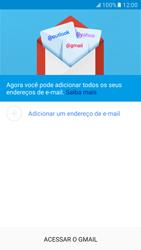 Como configurar seu celular para receber e enviar e-mails - Samsung Galaxy S7 - Passo 7
