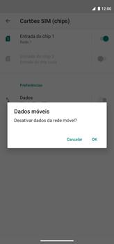 Como ativar e desativar uma rede de dados - Motorola Moto G8 Power - Passo 6