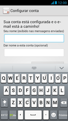 Como configurar seu celular para receber e enviar e-mails - Huawei Ascend G510 - Passo 18