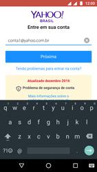 Como configurar seu celular para receber e enviar e-mails - Motorola Moto G5 - Passo 9