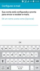 Como configurar seu celular para receber e enviar e-mails - Samsung Galaxy Grand Prime - Passo 10
