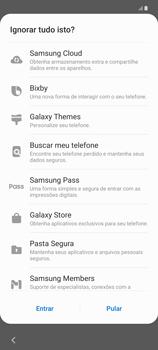 Como configurar pela primeira vez - Samsung Galaxy Note 20 5G - Passo 17