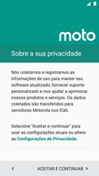 Como ativar seu aparelho - Motorola Moto G5 Plus - Passo 7