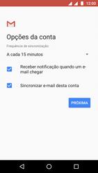 Como configurar seu celular para receber e enviar e-mails - Motorola Moto G5 - Passo 23