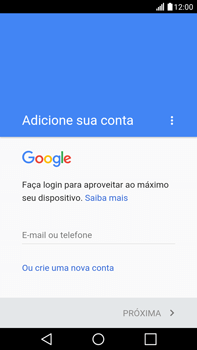 Como configurar seu celular para receber e enviar e-mails - LG G5 Stylus - Passo 9