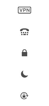 Explicação dos ícones - Apple iPhone XR - Passo 19