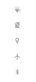 Explicação dos ícones - Motorola Edge - Passo 4