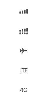 Explicação dos ícones - Apple iPhone 11 Pro - Passo 1