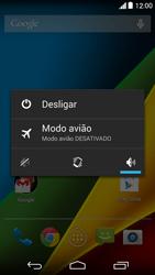 Como reiniciar o aparelho - Motorola Moto G (1ª Geração) - Passo 3