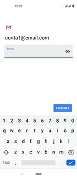 Como configurar seu celular para receber e enviar e-mails - Motorola One Vision - Passo 12