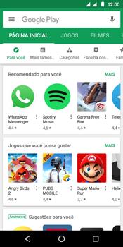 Como baixar aplicativos - Motorola Moto G6 Play - Passo 4