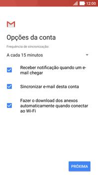 Como configurar seu celular para receber e enviar e-mails - Asus ZenFone 3 - Passo 20