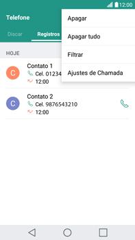 Como bloquear chamadas de um número específico - LG G5 Stylus - Passo 4
