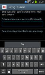 Como configurar seu celular para receber e enviar e-mails - Samsung Galaxy Win - Passo 16
