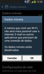 Como ativar e desativar uma rede de dados - Samsung Galaxy Core Plus - Passo 6