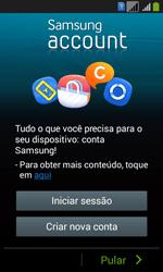 Como configurar pela primeira vez - Samsung Galaxy Core Plus - Passo 8