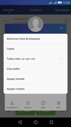 Como bloquear chamadas de um número específico - Huawei Y6 - Passo 5