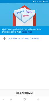 Como configurar seu celular para receber e enviar e-mails - Samsung Galaxy J4+ - Passo 6